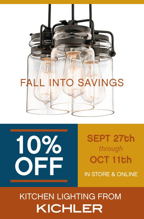 Kichler Fall Lighting Sale at Madison Lighting