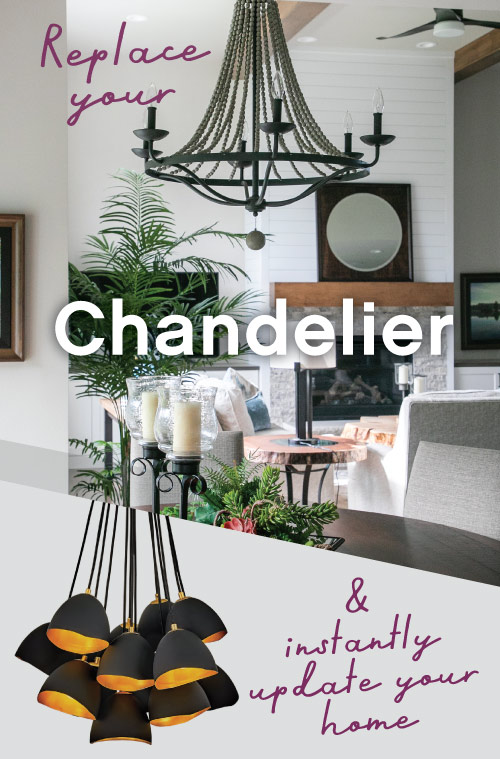 Update a Chandelier at Madison Lighting