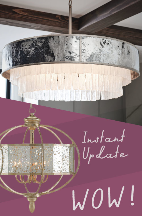Instatn Update with Chandelier Lights