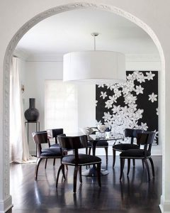 Large Pendant over dining area
