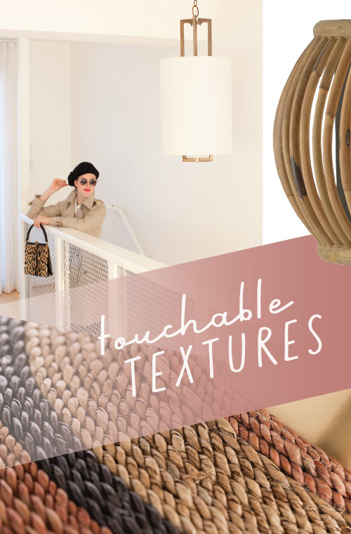 Touchable Textures in Lighting