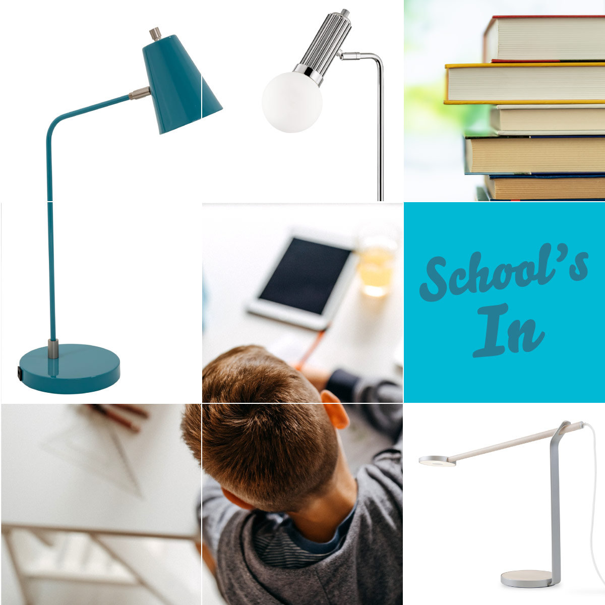 Home school and office solutions to lighting