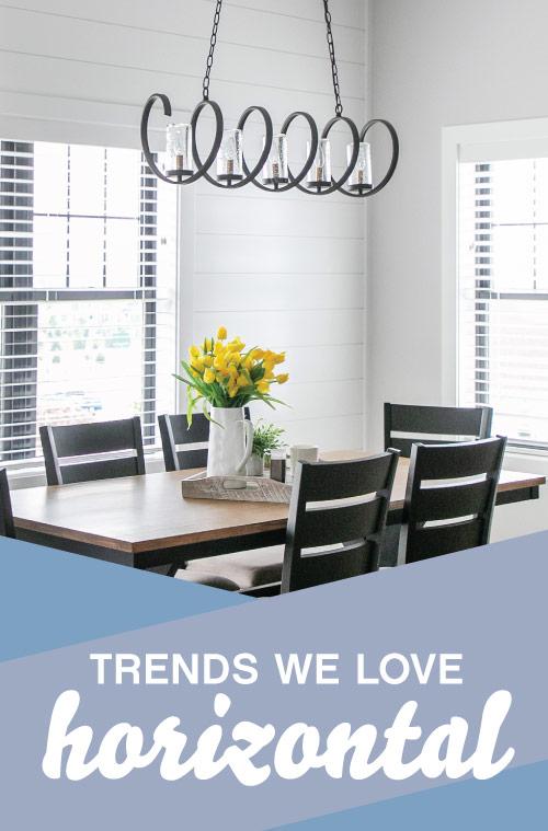 Horizontal lighting trends at Madison Lighting