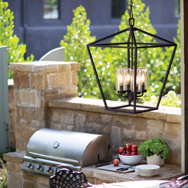 Spring outdoor lighting