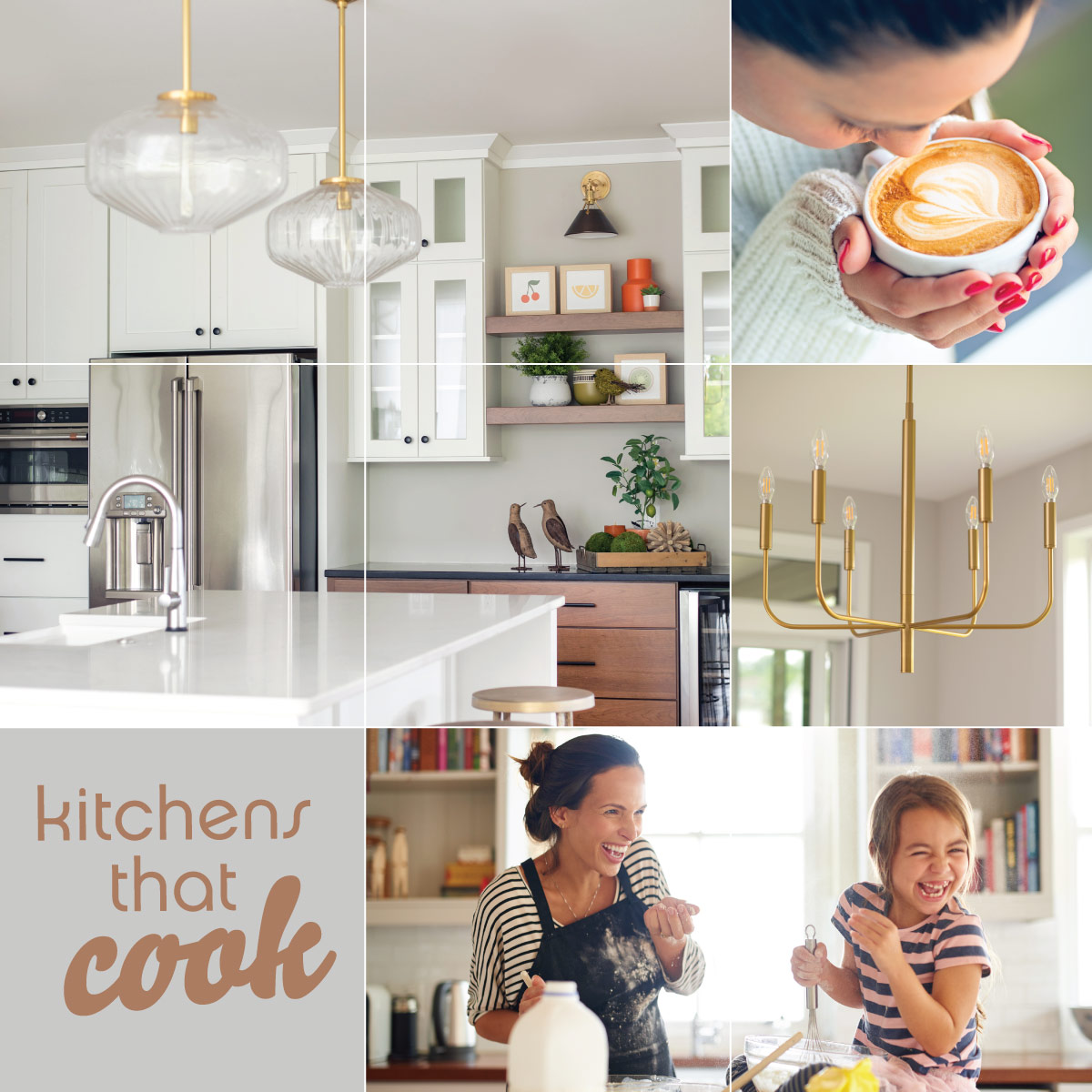 Task Oriented Lighting for Kitchens