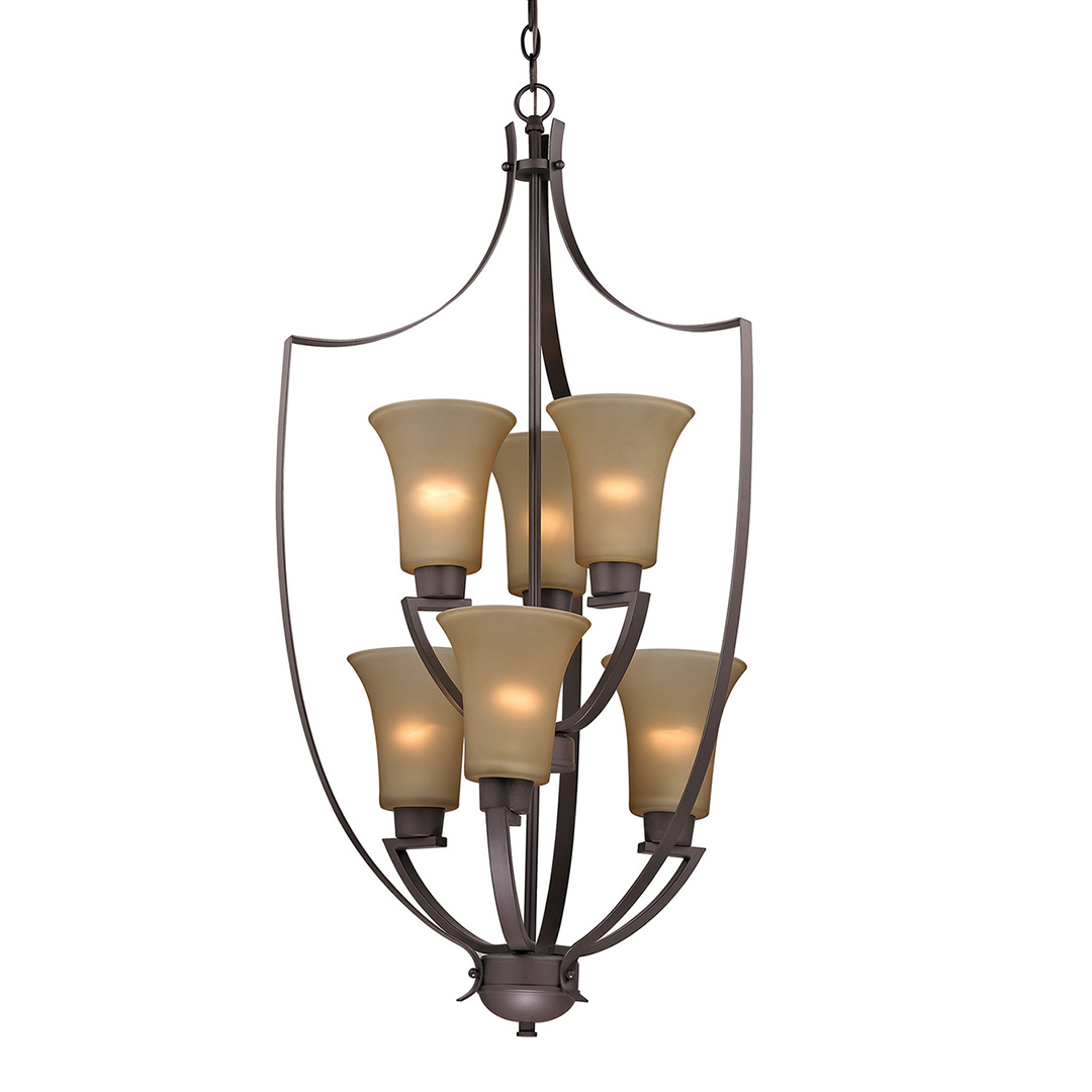 picture of foyer lantern