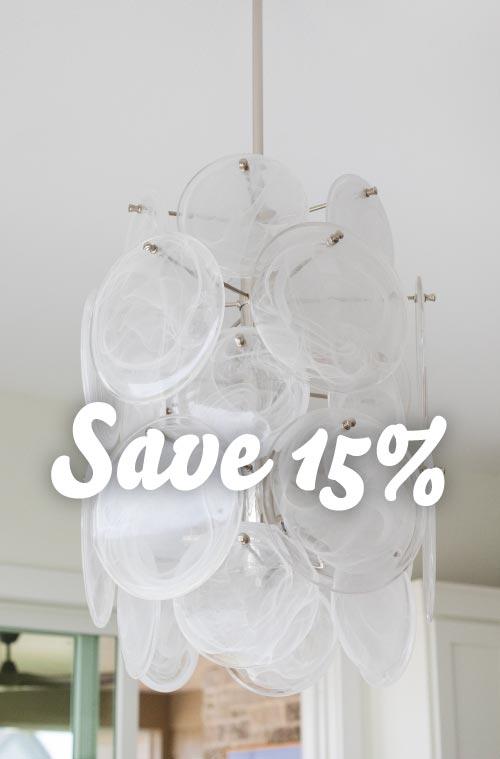 Madison Lightings Fall Sale