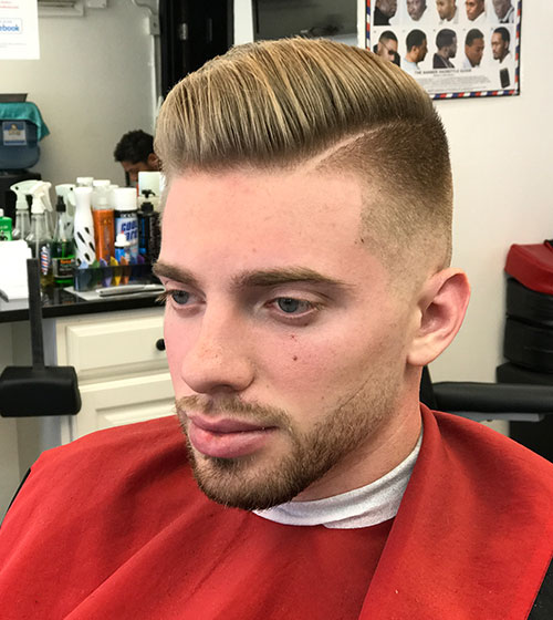 Mens Haircut Line Up Haircuts Nashua Nh