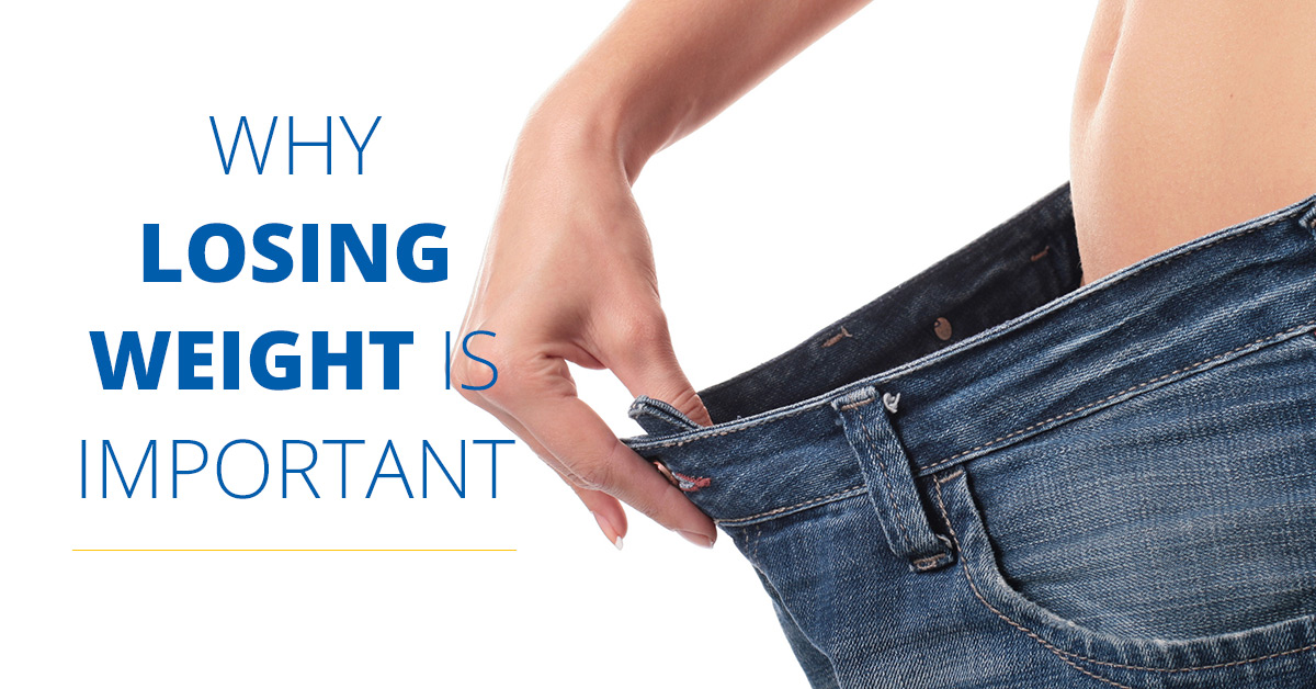 Why is weight loss important?