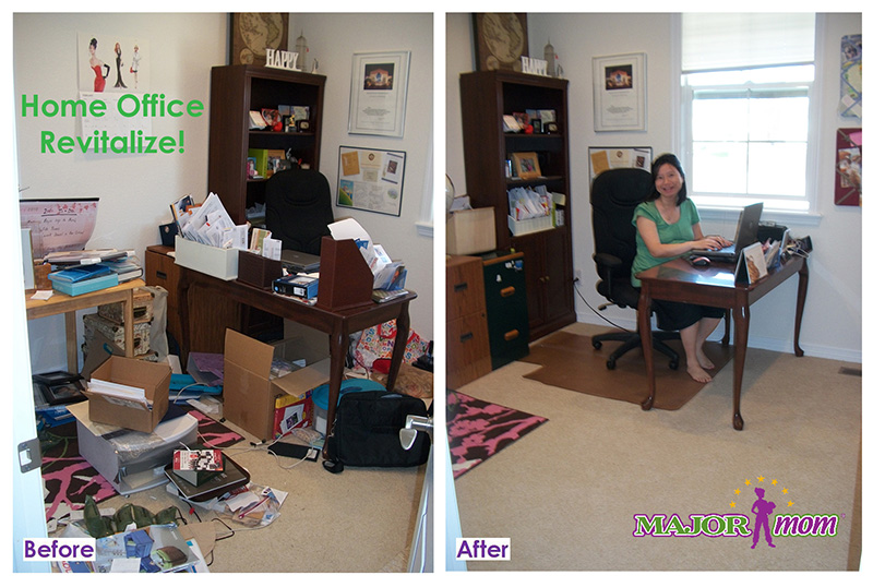 office organizing and paper management from Major Organizers