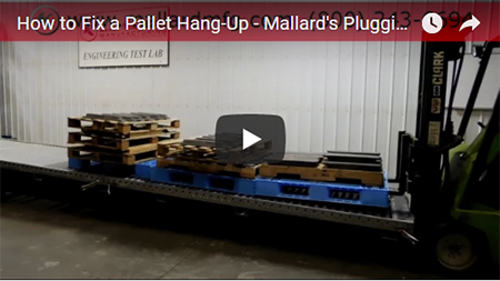 Mallard Pallet Flow Plugging the System video