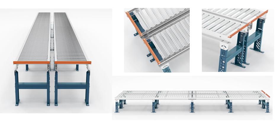 Gravity Conveyor Ilustrations