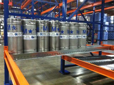 Keg Flow Rack Mallard Manufacturing