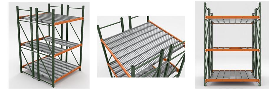 Keg Flow Rack Illustration Mallard Manufacturing