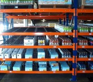 Carton Flow Rack Case Flow Rack Mallard Manufacturing