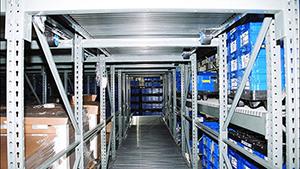 Full Roller Pallet Flow Rack Mallard Manufacturing