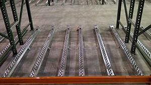 Steel Skate Wheel Pallet Flow Mallard Manufacturing