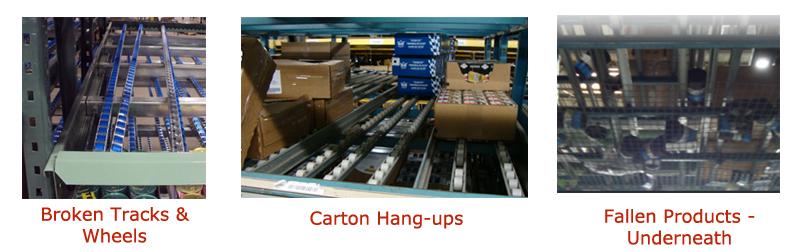 Carton Flow Rails