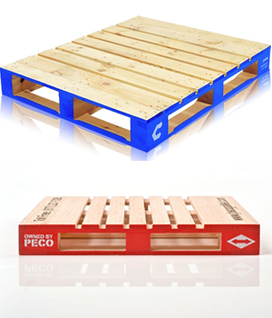 New Chep and Peco pallets