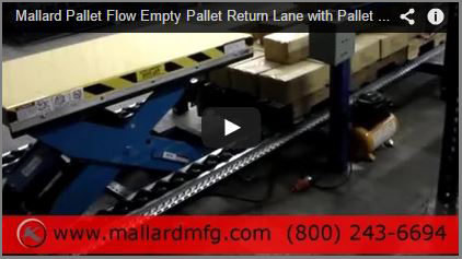 See Mallard's Pallet Return in action