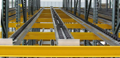 magnum wheel pallet flow rack