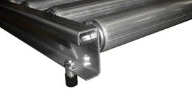 gravity conveyor roll-over