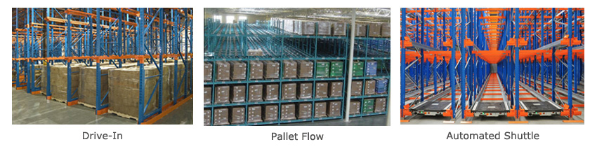 Deep Lane Pallet Rack Storage