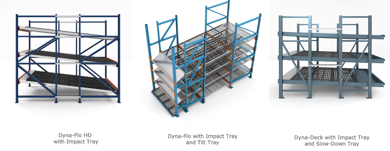 Dyna Trio with impact tray