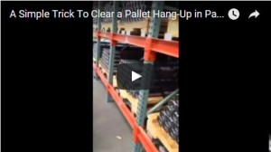 Pallet Flow Plugging Video