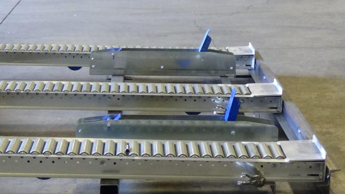 Forklift Pallet Flow Rack Separator FL300