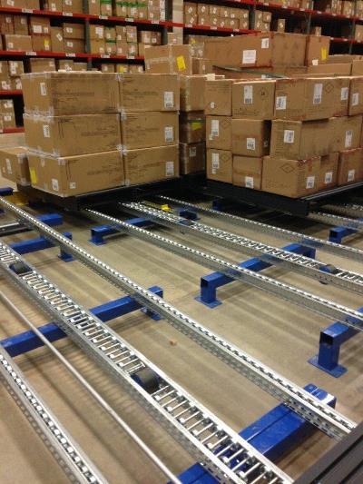 Flex Pallet Flow Rack Separator FS-200