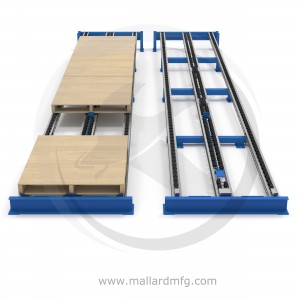 Pallet Flow Rack Layer Pick Separator - Mallard Manufacturing