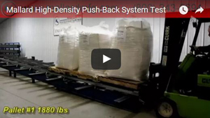 Push-Back Pallet Rack