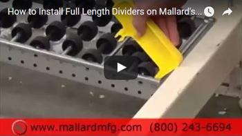 Carton Flow Rack Dividers