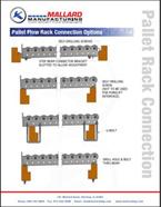 Pallet Flow Rack Connection Options
