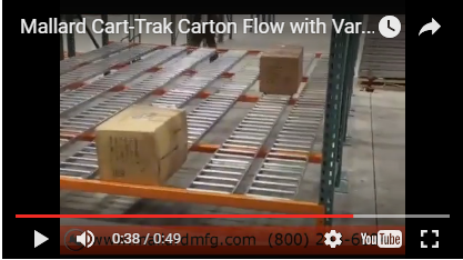 Cart-Trak Carton Flow -
