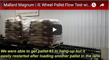 Magnum Wheel Pallet Flow for Heavy Pallets