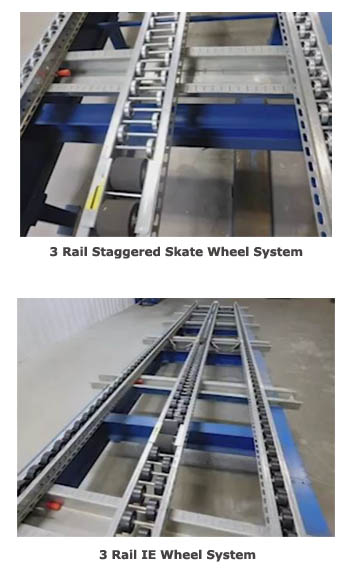 pallet flow racking comparison for heavy pallets