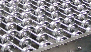 steel skate wheel conveyor from Mallard Manufacturing