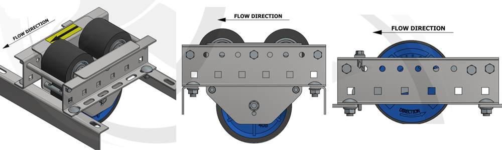 AMBA Pallet Flow Speed Controller Illustrations