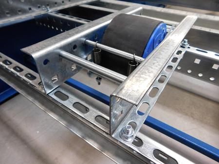 ABMA pallet flow rack speed controller