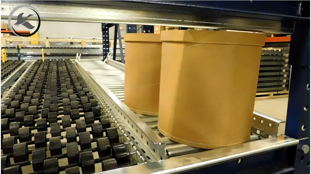 Carton Flow Racking - Mallard Manufacturing