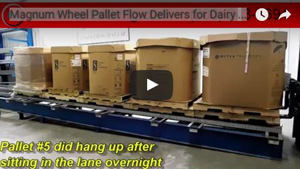 Dairy pallet flow video