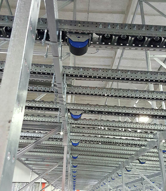Mallard Pallet Flow Rack Dtop-In Speed Controller