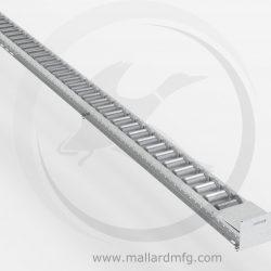 Flange Roller Rail Detail