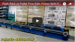 Push-Back Pallet Flow Mallard Manufacturing