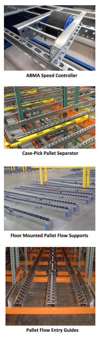 Pallet Flow Racking Accessories