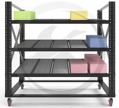 Cart-trak carton flow workcell
