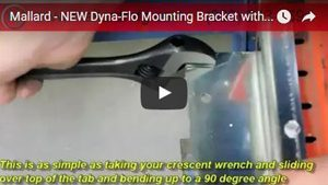 Mallard Retention Angle Dyna-Flo Mounting Bracket