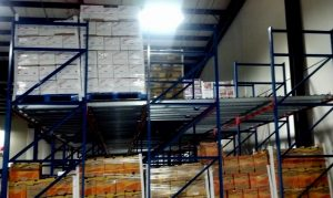 Mallard push-back pallet flow racking